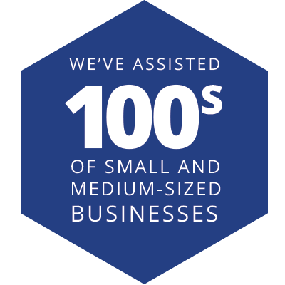 We've assisted 100s of small and medium-sized businesses